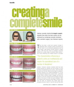Cosmetic-Surgery-Magazine-Article-Creating-a-Complete-Smile