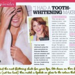 "Cosmo Magazine: ""I had a tooth whitening makeover"""